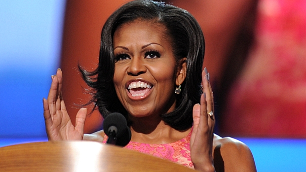 Michelle Obama proferiu o discurso principal do primeiro dia da convenção democrata
