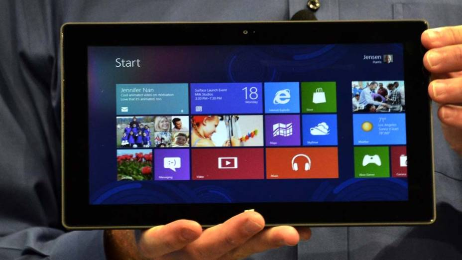 Surface, o novo tablet da Microsoft