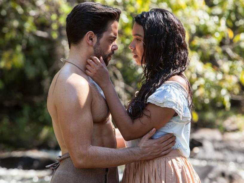 Miguel (Pedro Carvalho) e Juliana (Gabriela Moreyra) vão formar o casal principal de Escrava Mãe