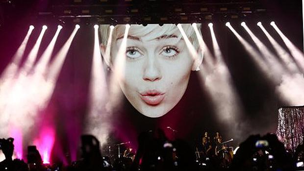 Apresentação de Miley Cyrus no Rio de Janeiro