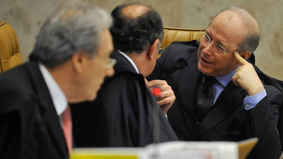 Retomada do julgamento na fase de fixação das penas no processo do mensalão, em 07/11/2012