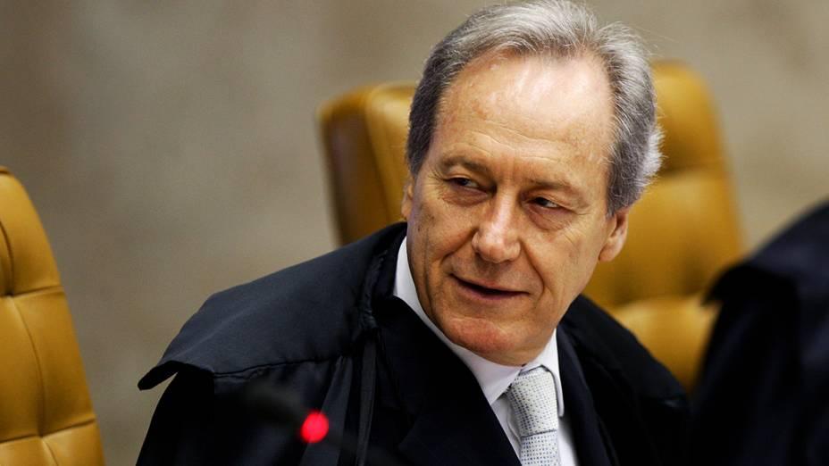 Ministro Ricardo Lewandowsk - STF retoma julgamento sobre a compra de apoio político no caso do mensalão, em 20/09/2012