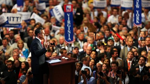 Romney aceitou formalmente a indicação do Partido Republicano