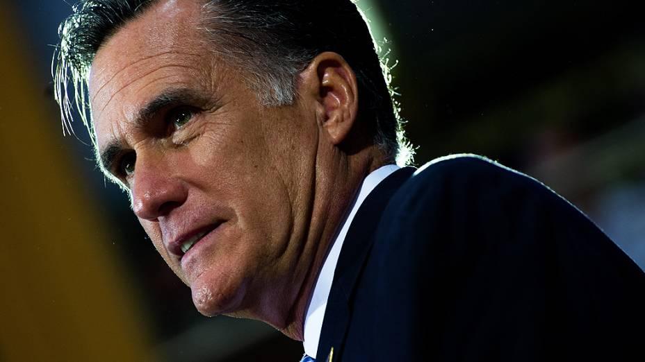 O candidato republicano à Casa Branca Mitt Romney, em 08/10/2012