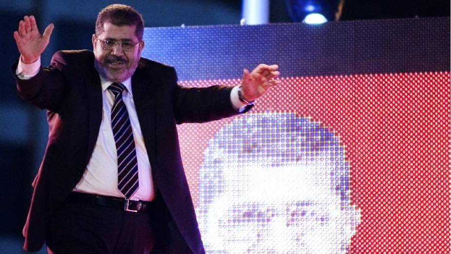 Mohamed Mursi venceu as eleições presidenciais no Egito