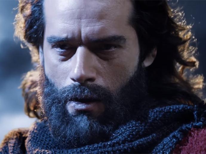 <p>Cena do trailer de Os Dez Mandamentos -- O Filme</p>