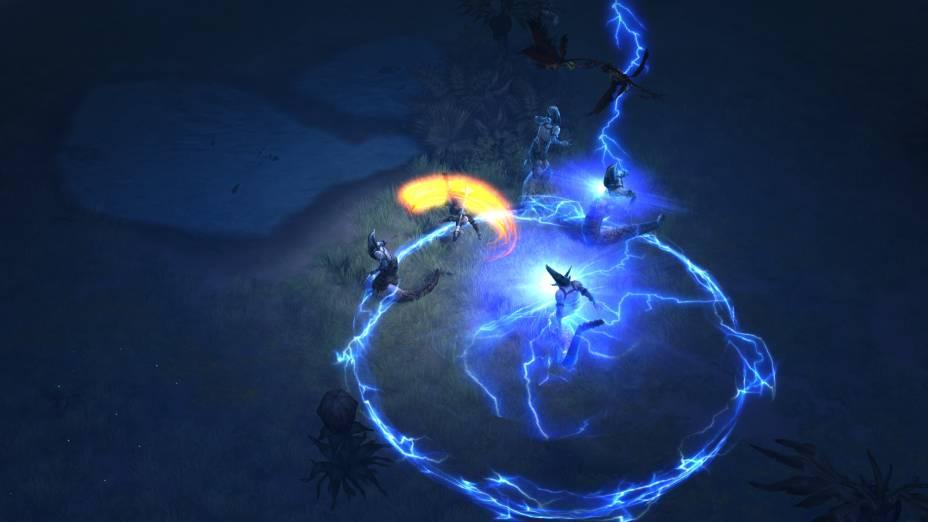 Magias devastadoras são frequentes em Diablo III