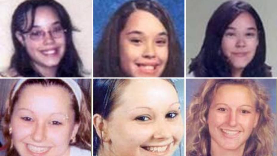 Amanda Berry e  Gina DeJesus desaparecidas a cerca de 10 anos, foram encontradas nesta terça-feira (7) em Cleveland, nos Estados Unidos