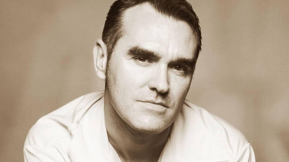 O cantor Morrissey em 2002