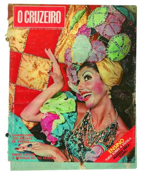 Capa da revista O Cruzeiro de 1972, com Marília Pêra na capa