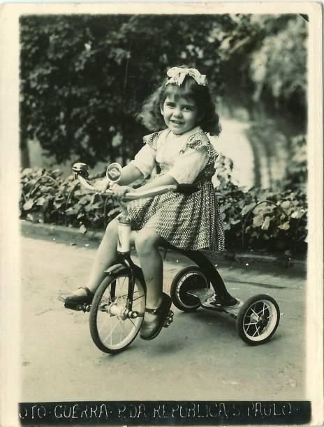 Marília Pêra com 3 anos