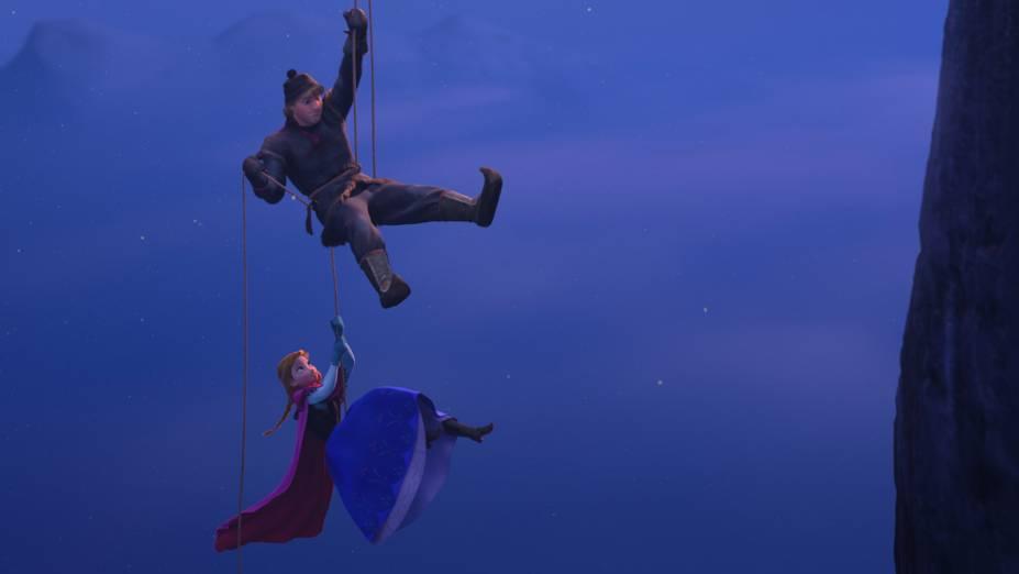Imagem da animação Frozen: Uma Aventura Congelante