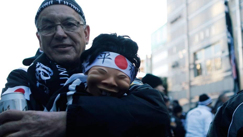 Torcida do Corinthians invade o Japão para apoiar o time durante o Mundial de Clubes da Fifa