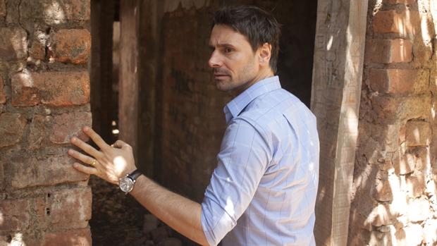 O ator Murilo Rosa em cena do filme Vazio Coração