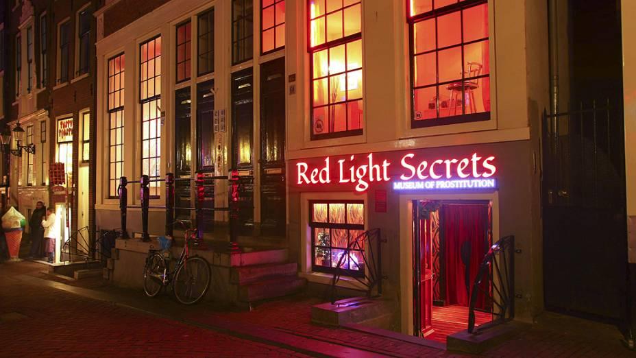 Amsterdã inaugura o primeiro museu da prostituição do mundo, que abre suas portas nesta quinta-feira (6)