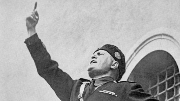 O ditador italiano Benito Mussolini, criador do Facismo