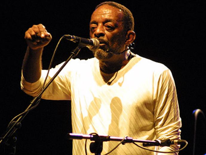 O músico Naná Vasconcelos