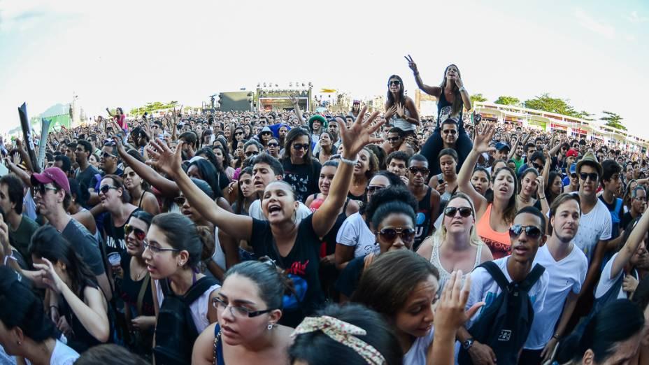 Apresentação do Nando Reis e Skank no terceiro dia do Rock in Rio