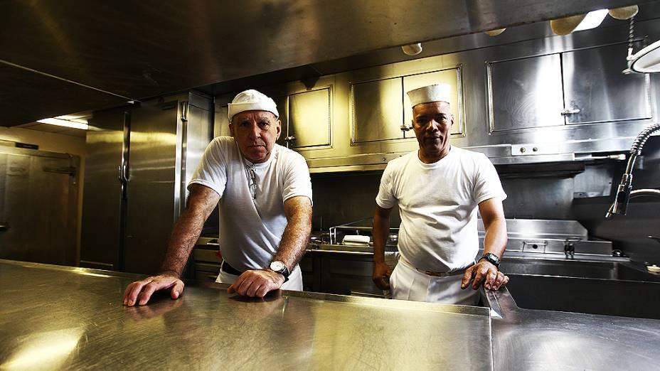 Cozinheiros do navio Alpha Crucis