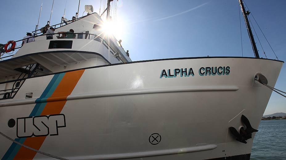 O Alpha Crucis foi inaugurado nesta quarta-feira no Porto de Santos