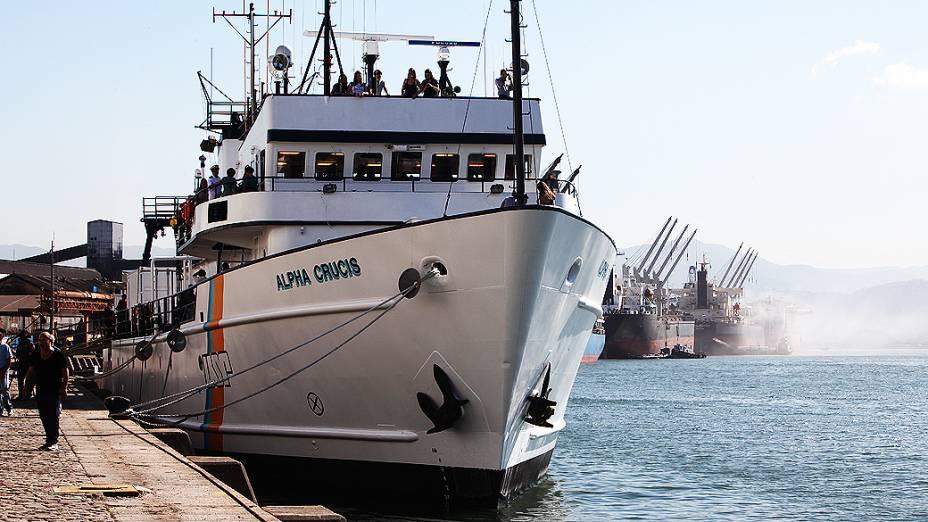 A embarcação foi comprada pela Fundação de Amparo à Pesquisa do Estado de São Paulo (FAPESP) e pela Universidade de São Paulo (USP)