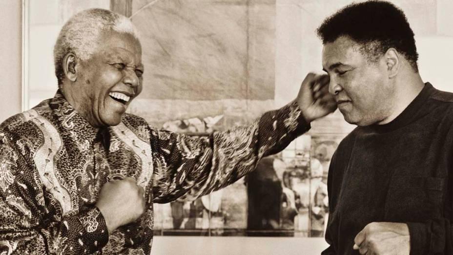 1993 - Nelson Mandela e Muhammad Ali