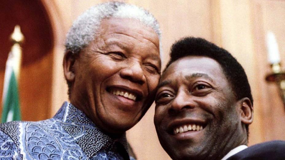2005 - Nelson Mandela e Pelé