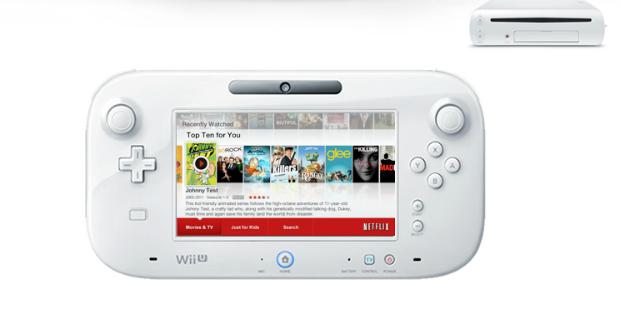 Programa do Netflix para o console Wii U, da Nintendo