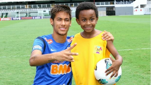 Neymar em participação especial na novela Carrossel