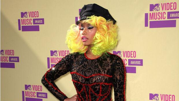 A rapper Nicki Minaj no VMA 2012