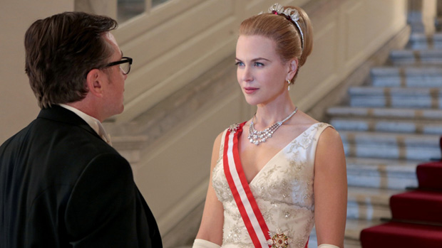 Nicole Kidman no papel de Grace Kelly