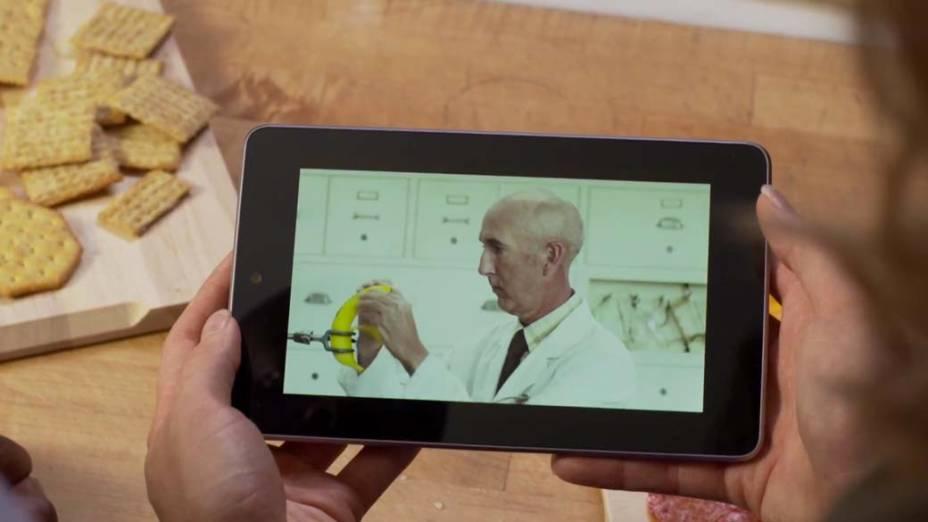 Exibição de vídeo no Nexus 7