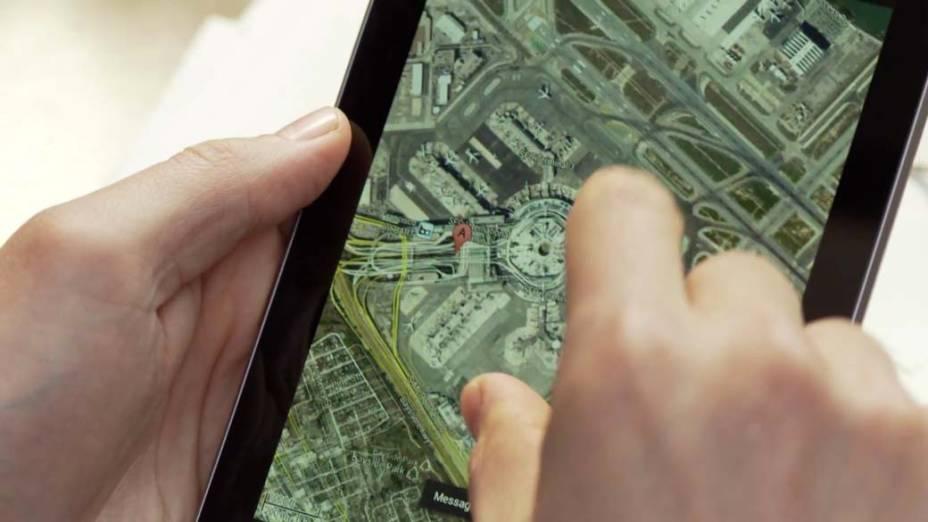 Google Maps no novo Nexus 7