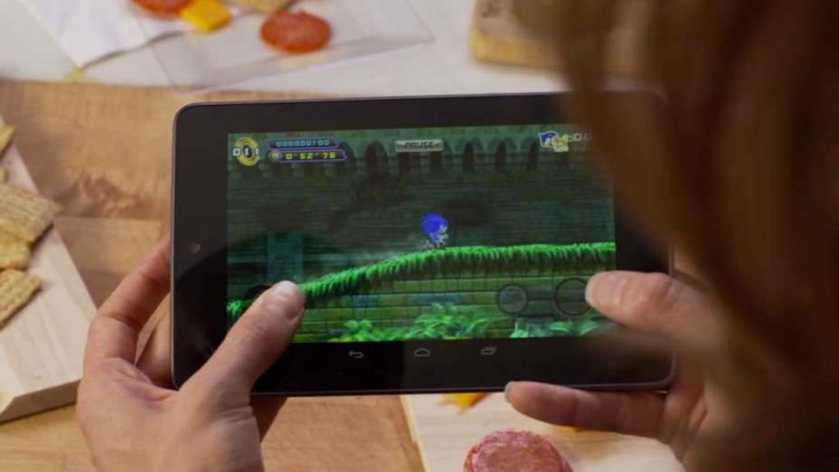 Jogo no novo Nexus 7
