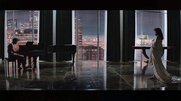 O apartamento de Christian Grey no filme Cinquenta Tons de Cinza