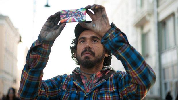 O artista Eduardo Kobra