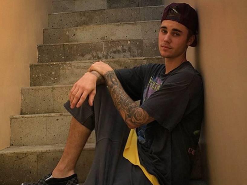 O cantor Justin Bieber volta a se comportar mal. Desta vez, no México