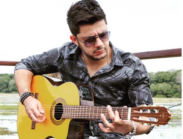 O cantor sertanejo Cristiano Araújo