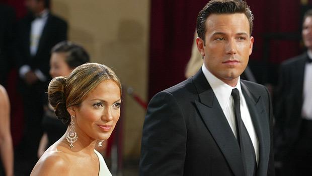 O ex-casal Jennifer Lopez e Ben Affleck