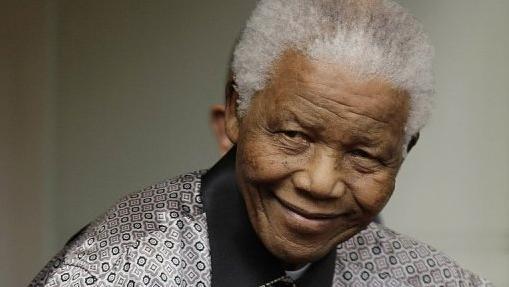 O ex-presidente sul-africano Nelson Mandela em Londres, em imagem de junho de 2008
