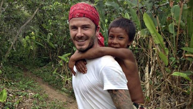 O jogador David Beckham no documentário David Beckham: Into The Unknown