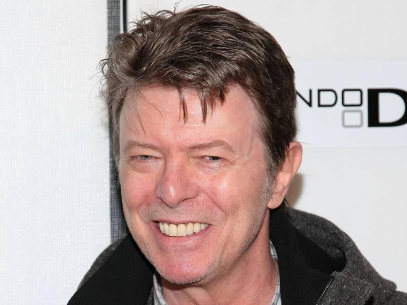 O músico David Bowie no festival de Tribeca, em Nova York, em 2009