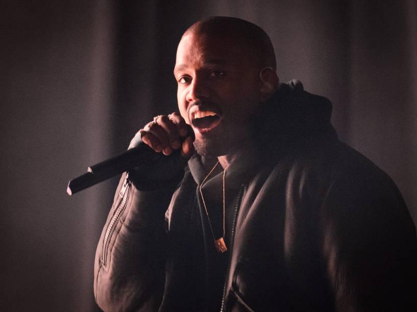 O rapper Kanye West