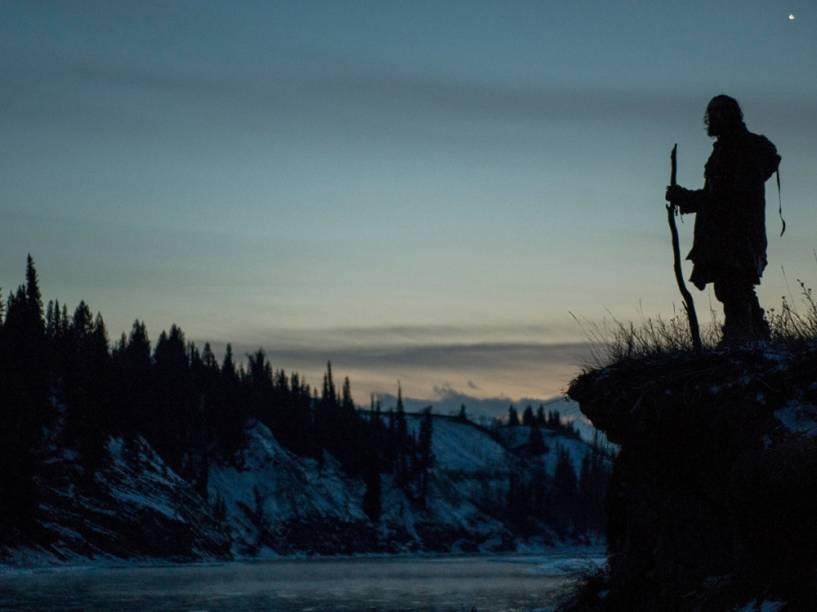 O Regresso foi filmado em lugares inóspitos do Canadá e na Argentina