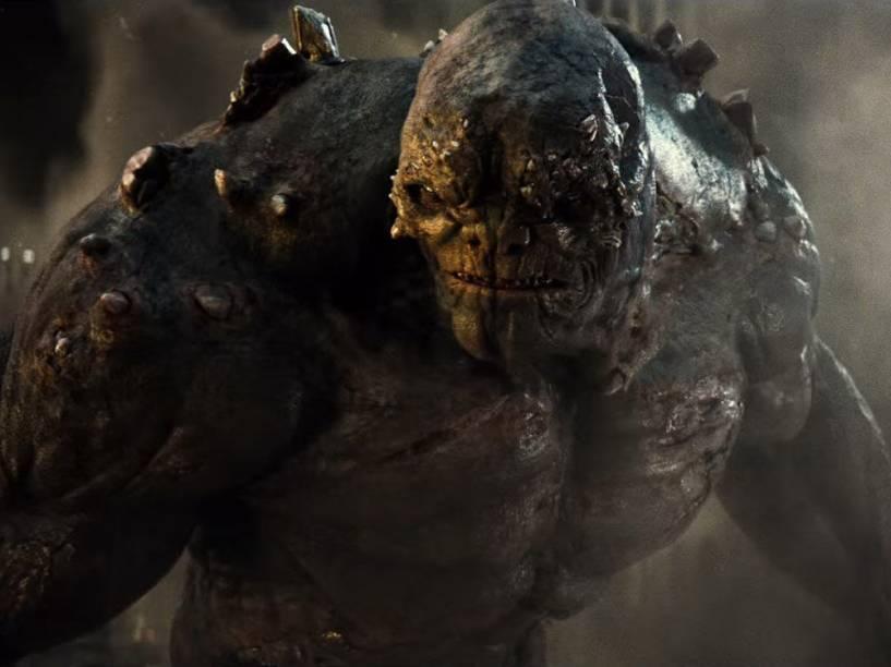 O vilão Apocalypse em Batman vs. Superman - A Origem da Justiça