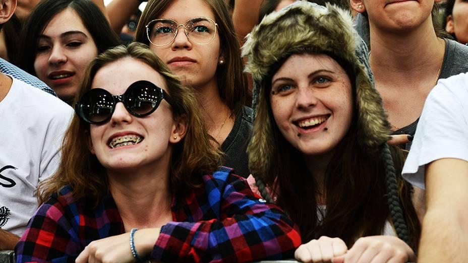 Público durante show da banda Of Monsters And Men no Lollapalooza