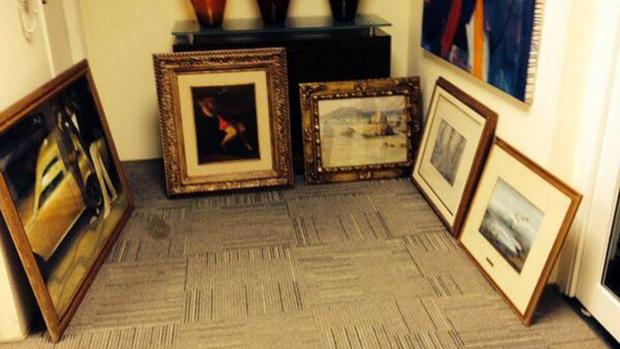 Obras de arte também foram apreendidas com os procurados na operação Lava Jato