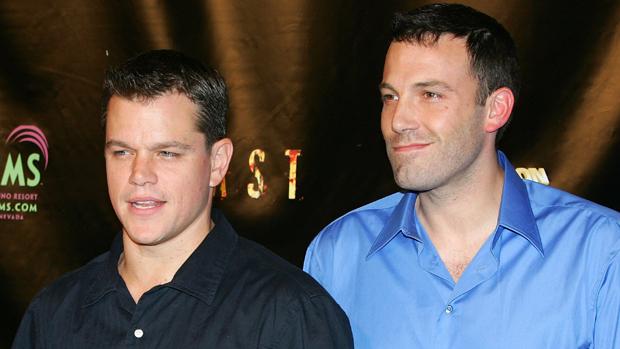 Os atores Ben Affleck e Matt Damon
