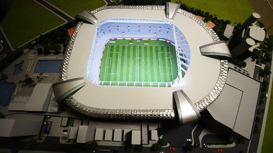 Arena do clube paulista não vai sediar nenhuma partida da Copa do Mundo de 2014