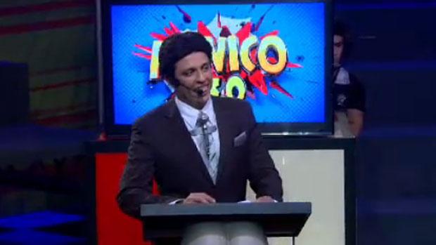 Wellington Muniz, o Ceará, imita Silvio Santos no Pânico na Band